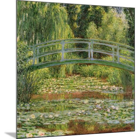 Le Pont Japonais, Giverny-Claude Monet-Mounted Art Print