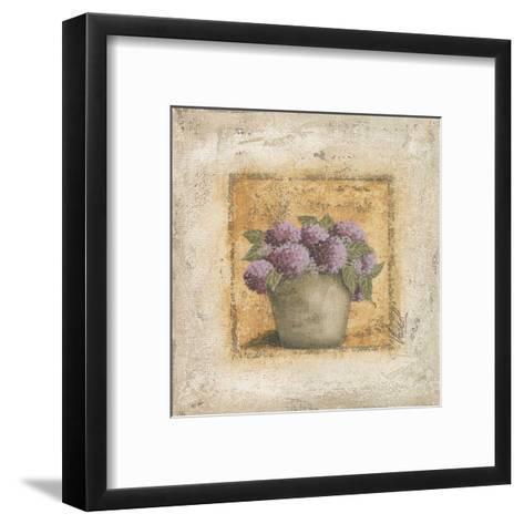 Orthensias en Pot-V?ronique Didier-Laurent-Framed Art Print