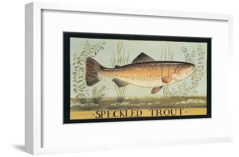 Speckled Trout-Dominique Perotin-Framed Art Print