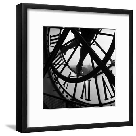 Orsay Clock-Tom Artin-Framed Art Print