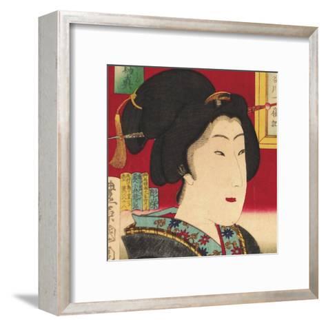 Geisha (detail)--Framed Art Print