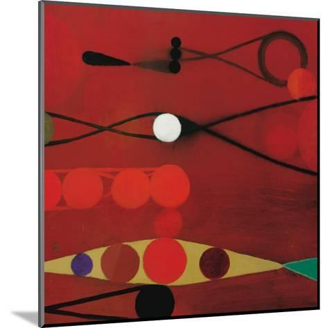 Red Seed, no. 34-Bill Mead-Mounted Art Print