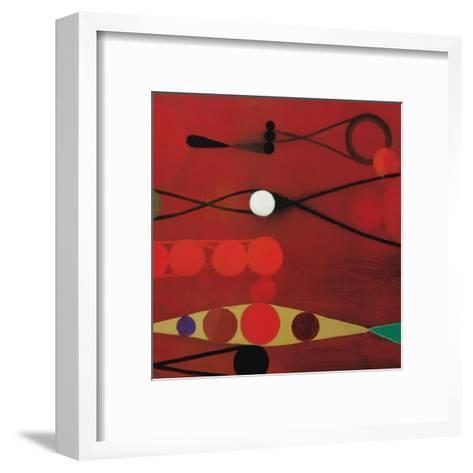 Red Seed, no. 34-Bill Mead-Framed Art Print