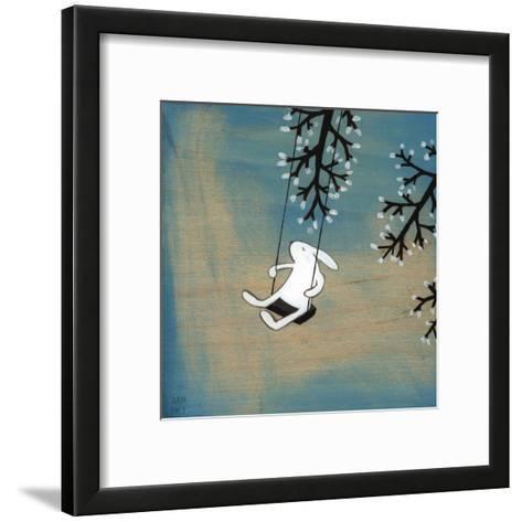Follow Your Heart- Swinging Quietly-Kristiana P?rn-Framed Art Print