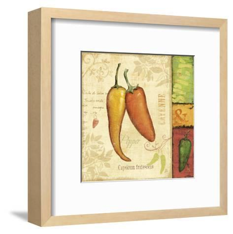 Hot and Spicy II-Daphne Brissonnet-Framed Art Print