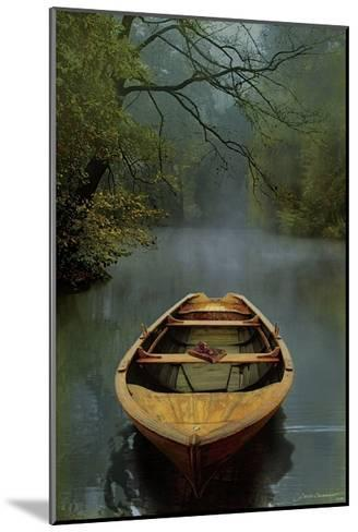 The Old Lake-Carlos Casamayor-Mounted Giclee Print