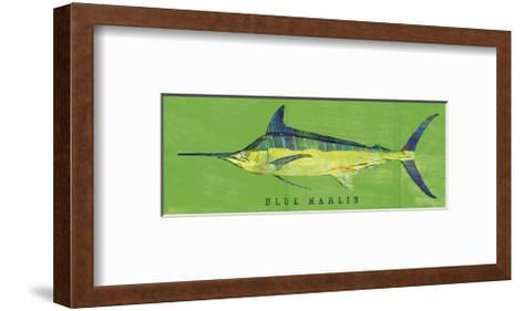 Blue Marlin-John Golden-Framed Art Print