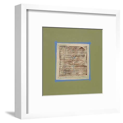 Walnut-P^ G^ Gravele-Framed Art Print