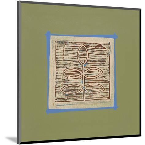 Walnut-P^ G^ Gravele-Mounted Giclee Print