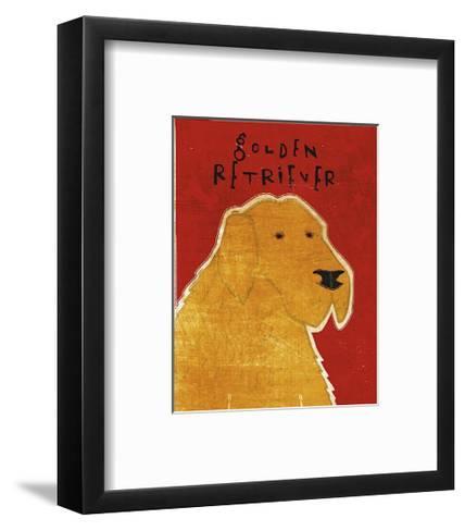 Golden Retriever-John Golden-Framed Art Print