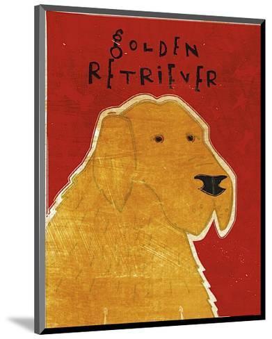 Golden Retriever-John Golden-Mounted Giclee Print