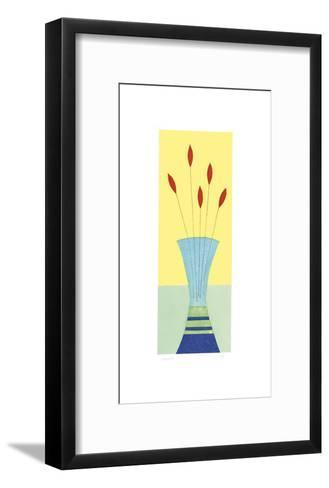 Lipstick Tulips-Hewitt-Framed Art Print