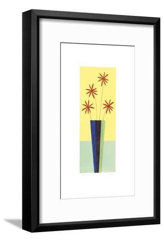 Blusher Daisies-Hewitt-Framed Art Print