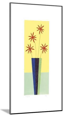 Blusher Daisies-Hewitt-Mounted Giclee Print