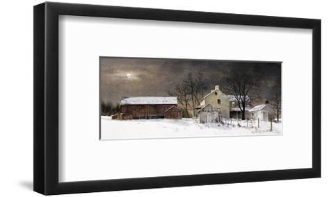 Winter Moon-Ray Hendershot-Framed Art Print