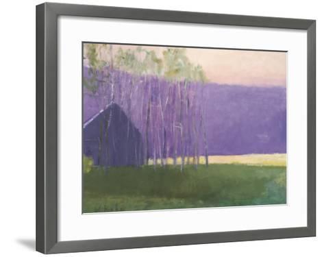 Barn in a Soft Light, 2002-Wolf Kahn-Framed Art Print