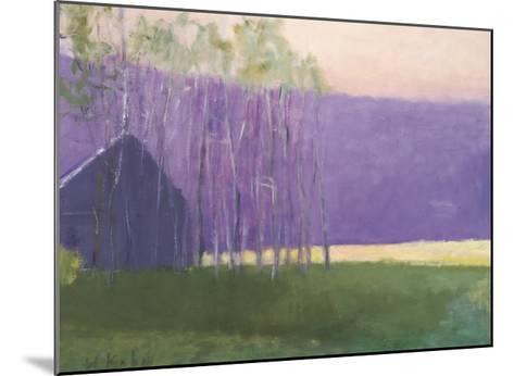 Barn in a Soft Light, 2002-Wolf Kahn-Mounted Giclee Print