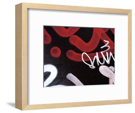 Red Black Tag II-Jenny Kraft-Framed Art Print