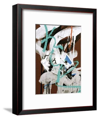 Aqua Tag I-Jenny Kraft-Framed Art Print