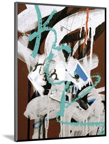 Aqua Tag I-Jenny Kraft-Mounted Giclee Print