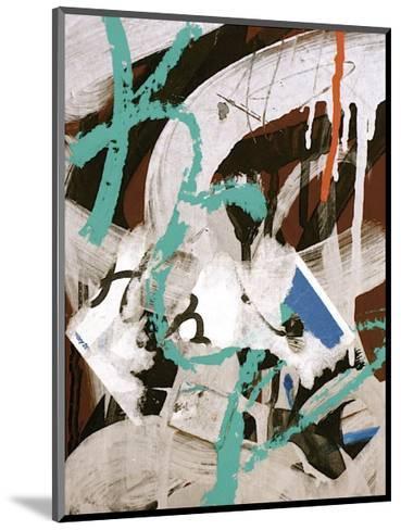 Aqua Tag III-Jenny Kraft-Mounted Giclee Print