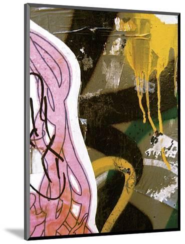 Pink Yellow Tag II-Jenny Kraft-Mounted Giclee Print