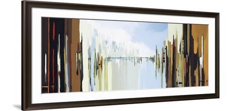 Urban Abstract No. 242-Gregory Lang-Framed Art Print