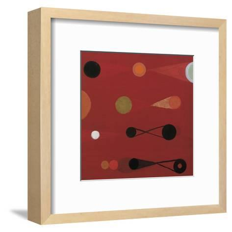 Red Seed, no. 13-Bill Mead-Framed Art Print