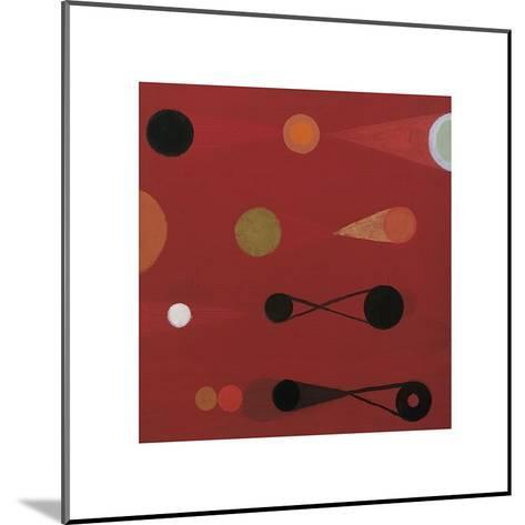 Red Seed, no. 13-Bill Mead-Mounted Giclee Print