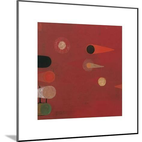 Red Seed, no. 6-Bill Mead-Mounted Giclee Print