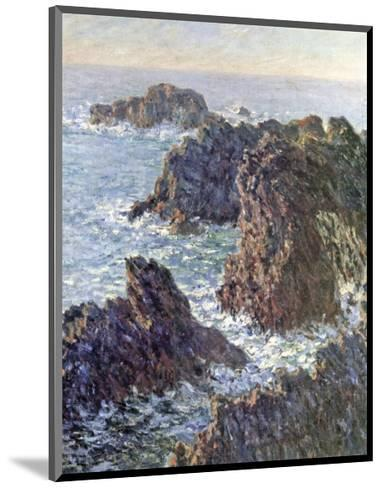 Rock Points at Belle-Ile, c.1886-Claude Monet-Mounted Giclee Print