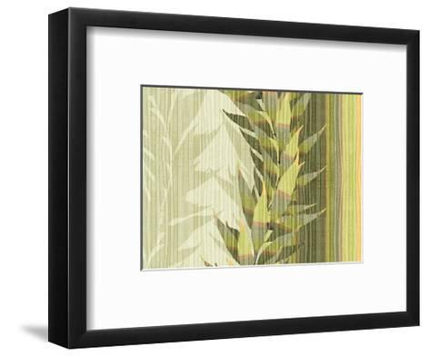 Water Leaves I-Mali Nave-Framed Art Print