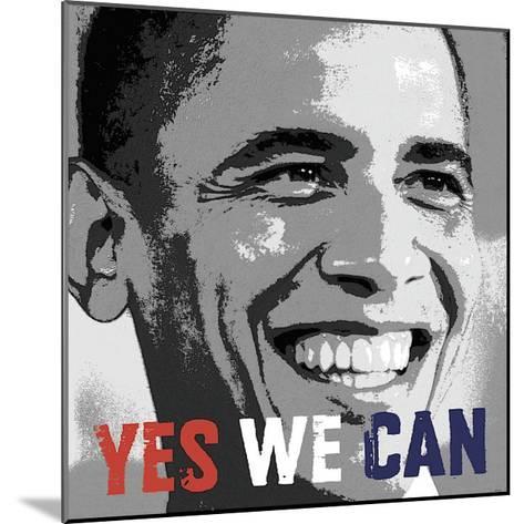 Barack Obama: Yes We Can--Mounted Giclee Print