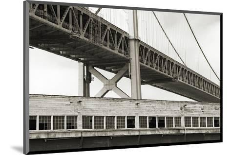 Bay Bridge and Pier, no. 1-Christian Peacock-Mounted Giclee Print