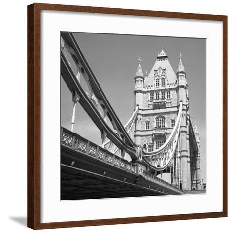 London Tower Bridge-Dave Butcher-Framed Art Print