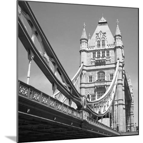 London Tower Bridge-Dave Butcher-Mounted Art Print