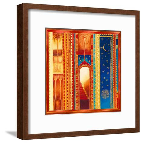 Vers la Lumière-Bernadette Pottiez-Framed Art Print