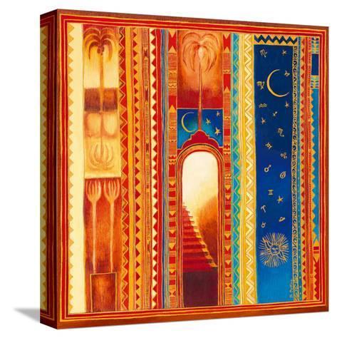 Vers la Lumière-Bernadette Pottiez-Stretched Canvas Print