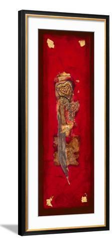 Coeur d'Or II-Lyne Duluc-Framed Art Print