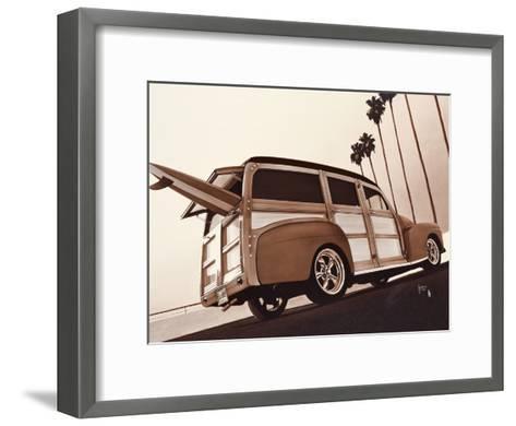 Wood Spirit I-Guy Tempier-Framed Art Print