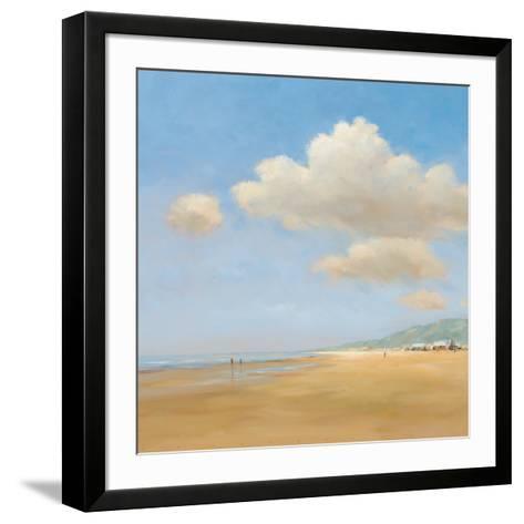Strandwandeling-Jan Groenhart-Framed Art Print