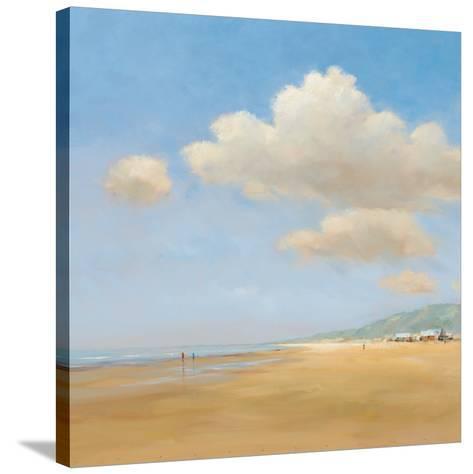 Strandwandeling-Jan Groenhart-Stretched Canvas Print