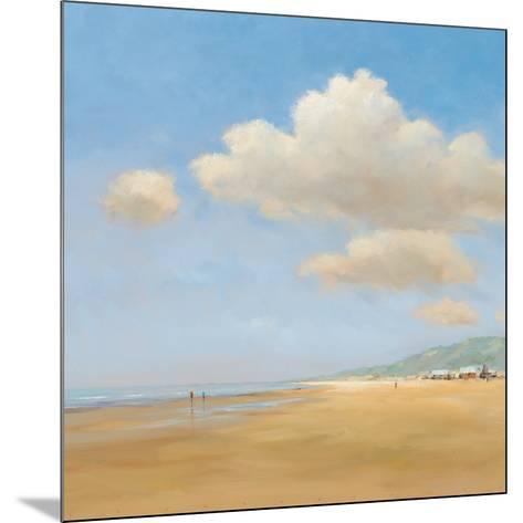 Strandwandeling-Jan Groenhart-Mounted Art Print