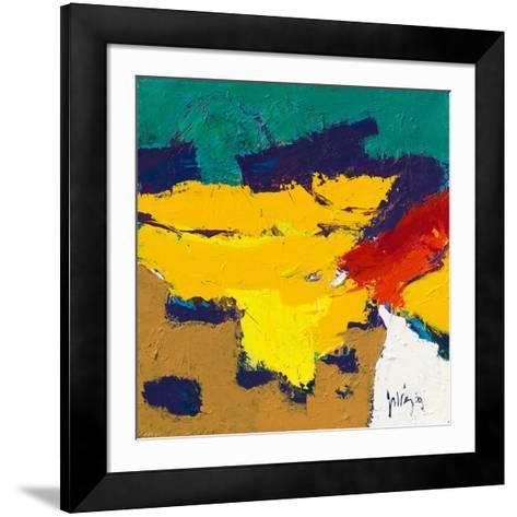 Yellow Plains-Jos van den Berg-Framed Art Print