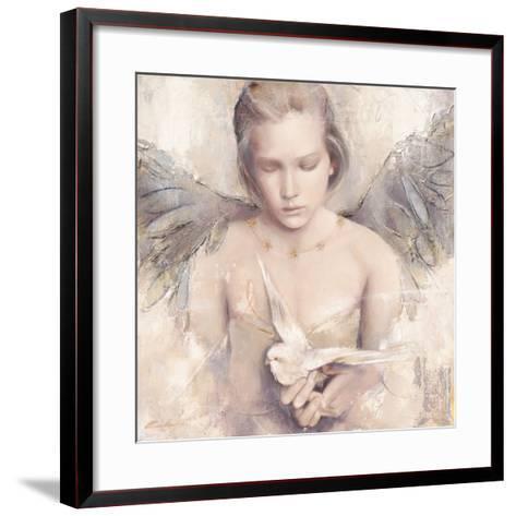 Rêverie d'Ange-Elvira Amrhein-Framed Art Print