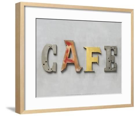 Café-Louis Gaillard-Framed Art Print