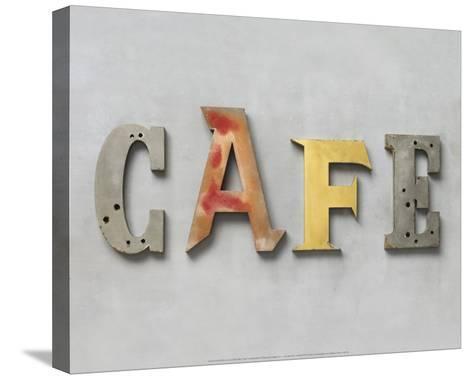 Café-Louis Gaillard-Stretched Canvas Print