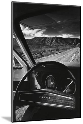 Dodge's Wheel (Death Valley, California, 1977)-Jean-Loup Sieff-Mounted Art Print