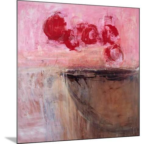Pink Basin-Jocelyne Bonzom-Mounted Art Print