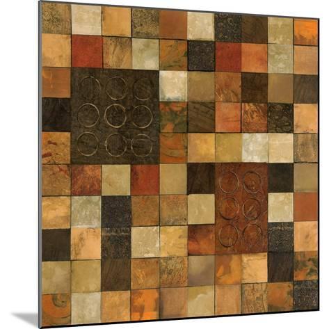 Checker Variation I-Norm Olson-Mounted Art Print